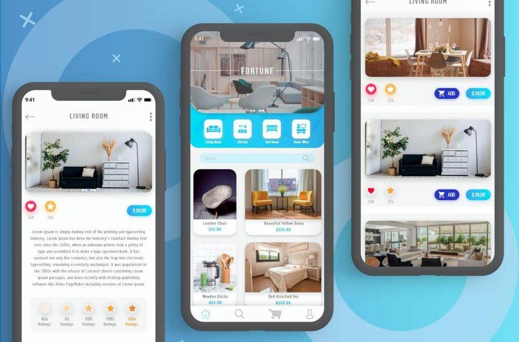Tренды дизайна мобильных приложений 2019