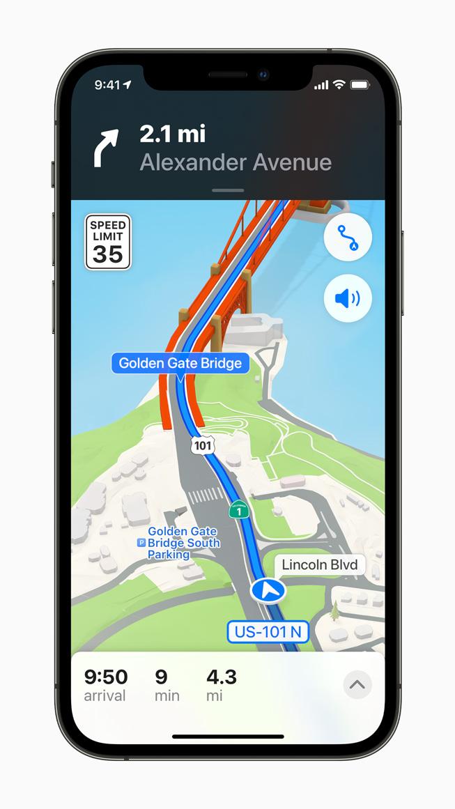 Навигатор iOS15