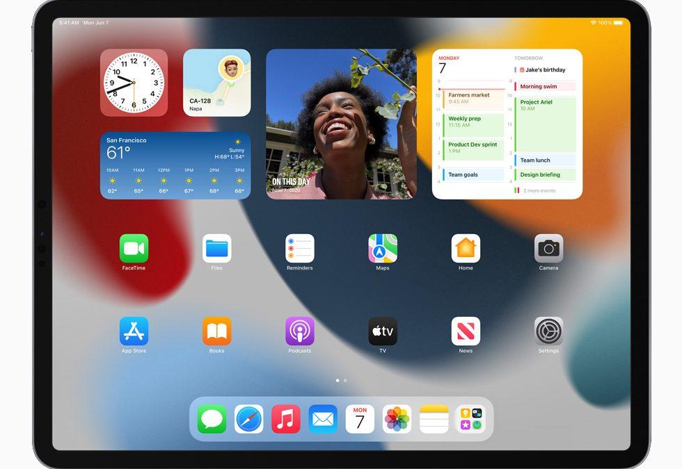 Apple анонсирует новые функции iPadOS 15
