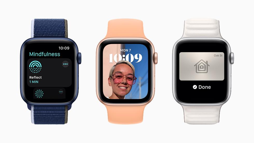Новые функции watchos8