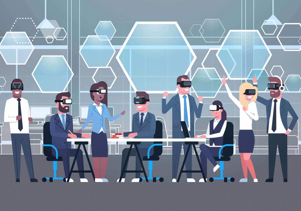 AR/VR для удаленной работы